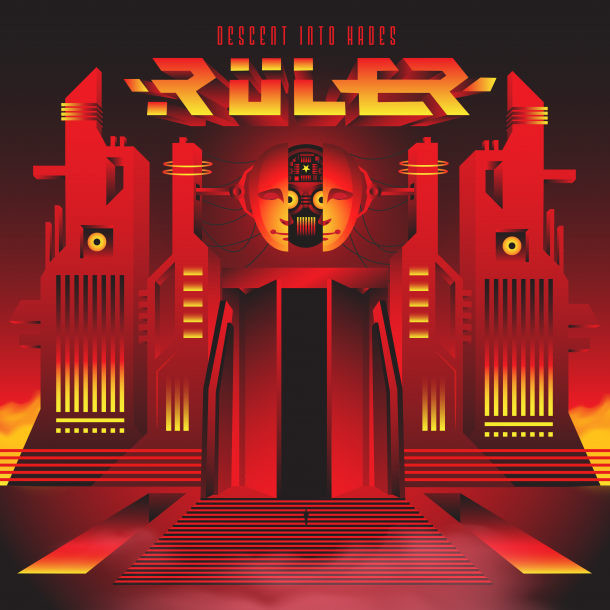 "Ruler: ""Descent Into Hades"" album cover unveiled!"
