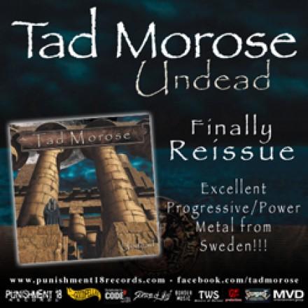 Tad Morose album reissue!