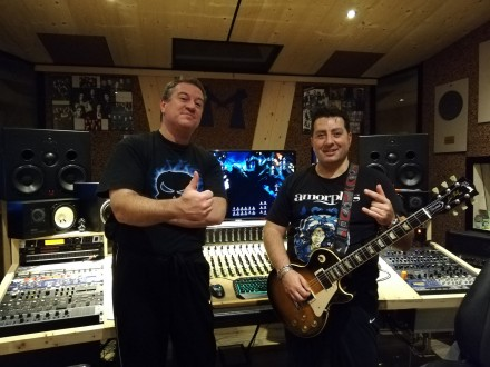 "Black Phantom: ""Zero Hour is Now"" recording sessions officially ended!"