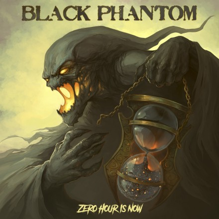 "Black Phantom: ""Zero Hour Is Now"" front cover unvelied!"