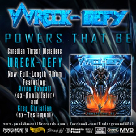 "Wreck-Defy: ""Powers That Be"" release date confirmed!"