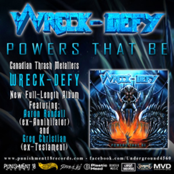 """Wreck-Defy: """"Powers That Be"""" release date confirmed!"""