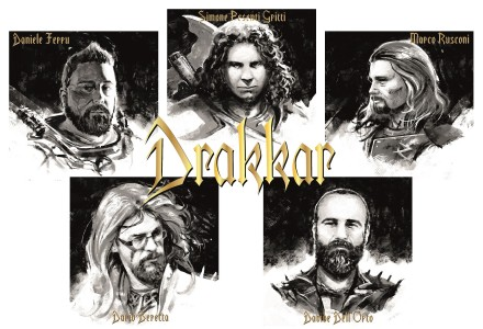 "Drakkar: first official audio from ""Chaos Lord""!"