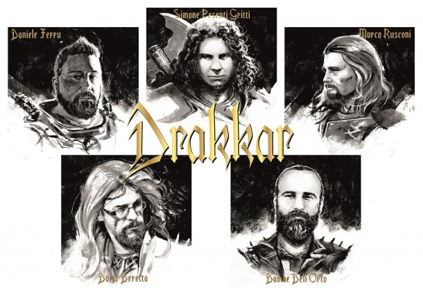 Drakkar: signs for Punishment 18 Records!