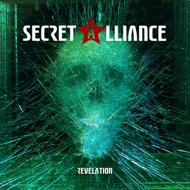 Secret Alliance: new album artwork unveiled!
