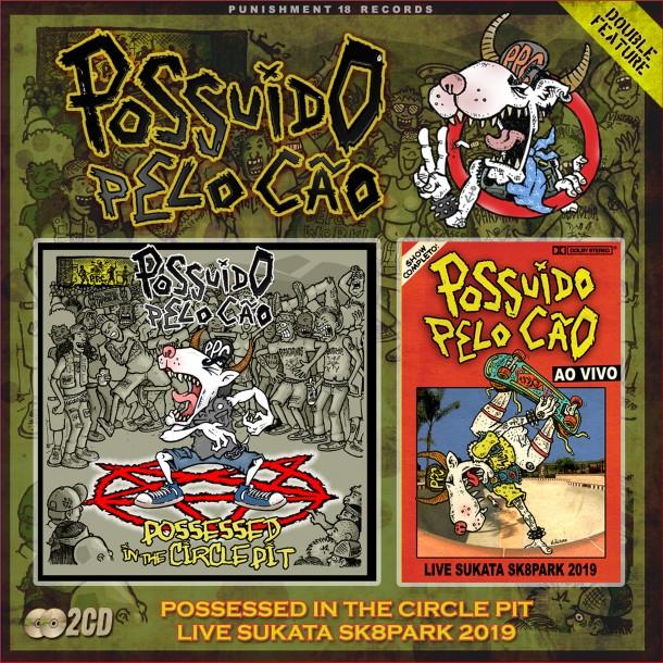 Possuído Pelo Cão: 2CD out for Punishment 18 Records!